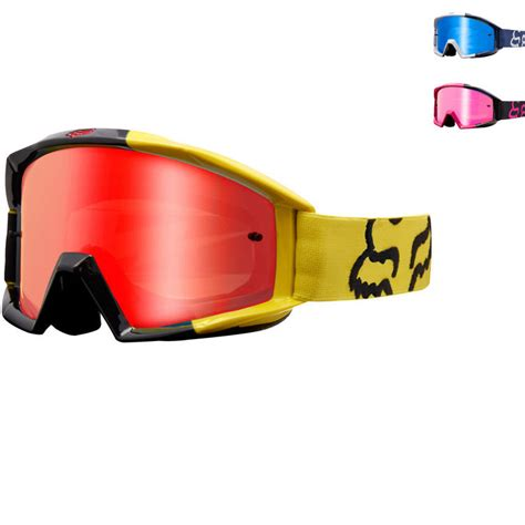 fox motocross goggles fox racing main mastar motocross goggles new arrivals