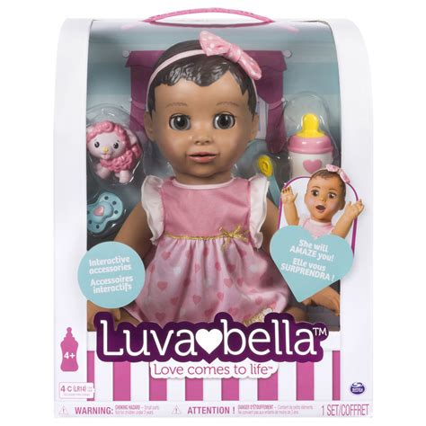 design doll look like you luvabella luva bella interactive baby doll latin hispanic