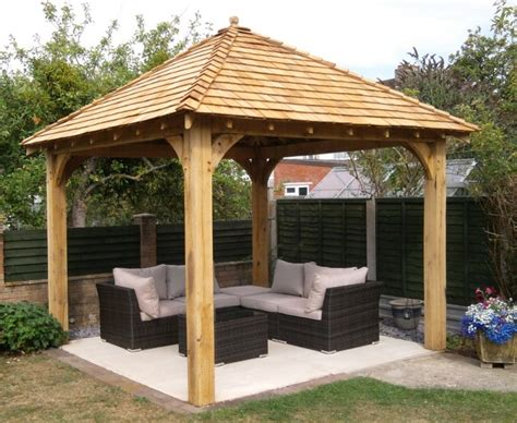 Permanent Patio Canopy Garden Structures Glenfort Feature Truss Ireland