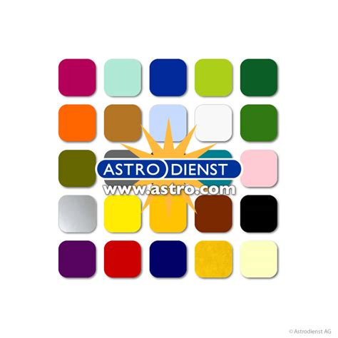 astros colors color oracle astrodienst