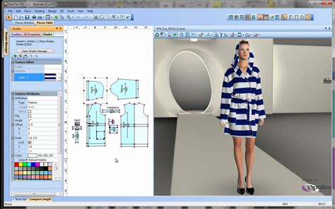virtual design software optitex virtual product 3d fashion design software download