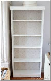 Bookcase Makeovers Ikea Billy Bookcase Makeover In My Own Style