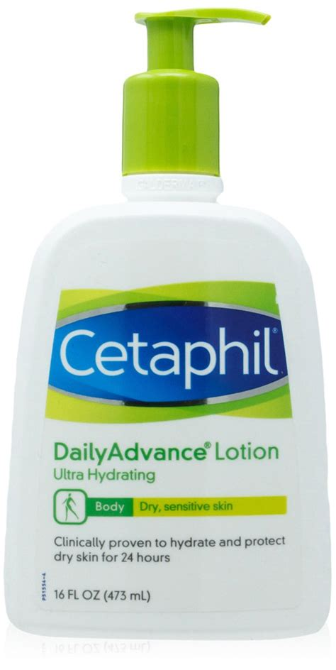 Cetaphil Daily Advance Lotion cetaphil gentle skin cleanser for all skin