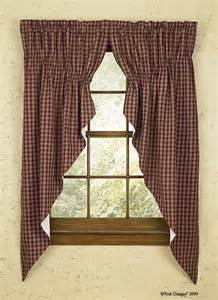 Primitive Country Curtains Bj S Country Charm Handmade Country Primitive Homespun Valances Curtains Dolls Decor More