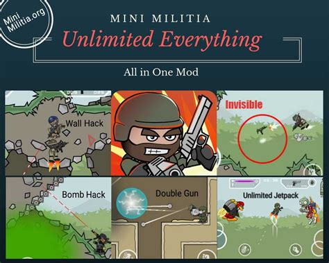 full version mini militia mini militia unlimited everything