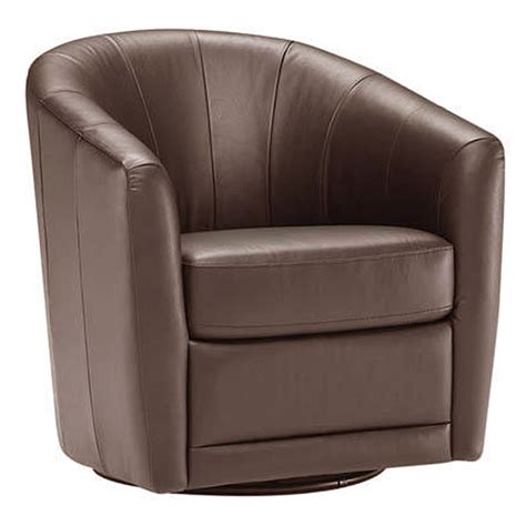 natuzzi leather swivel chair natuzzi swivel chair b596 187 sadler s home furnishings