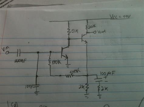 cascaded transistor lifier experiment transistors bjt cascading lifier electrical engineering stack exchange