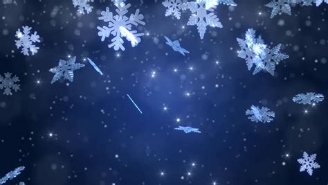 winter wonderland magic snowflakes merry stock footage video  royalty