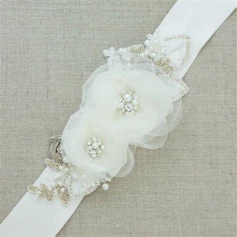 floral belt floral sash bridal belt bridal sash wedding