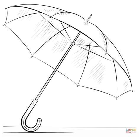 sun umbrella coloring page umbrella picture to color free clipart