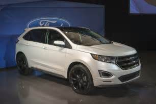 Ford Edge 2015 Sport 2015 Ford Edge Sport Live Photos Photo Gallery Autoblog
