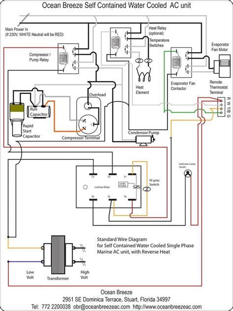 contactor wiring diagram ac unit  wiring diagram