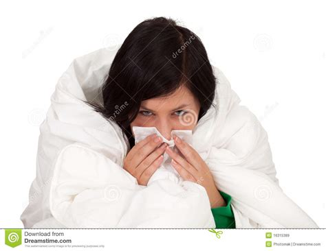 with runny nose with a runny nose royalty free stock images image 16315389