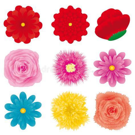 Flower Set 3 flower set part 3 stock vector illustration of florist 14080985