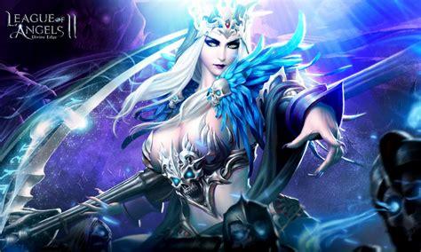 league  angels  hela demon girl soul eater scythe