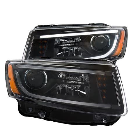 jeep 2014 headlights 2014 jeep grand led headlights 28 images pair black