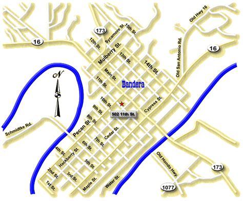 bandera texas map bandera county attorney office map