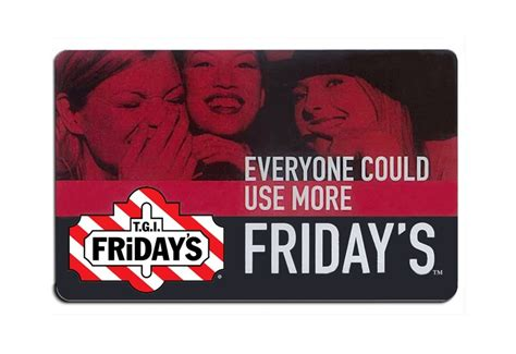 printable gift card tgi fridays free 25 tgi friday s gift card low gin gift cards