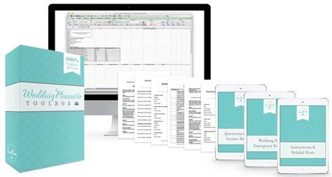 free printable wedding planning tools the wedding planner s toolbox