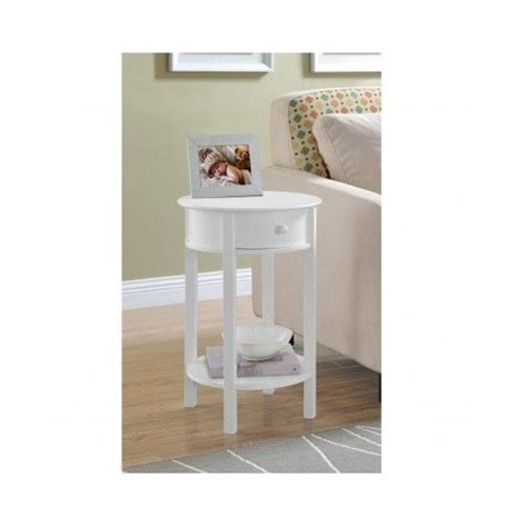small end table living room furniture sofa side magazine side sofa table small white round wood furniture couch end