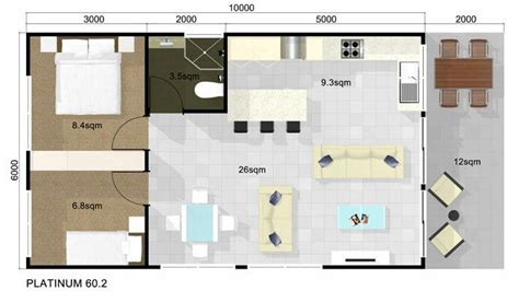 guest house floor plans 2 bedroom guest house floor plan 2 bedroom guest house pinterest