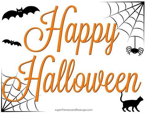 printable halloween images happy halloween signs www pixshark com images