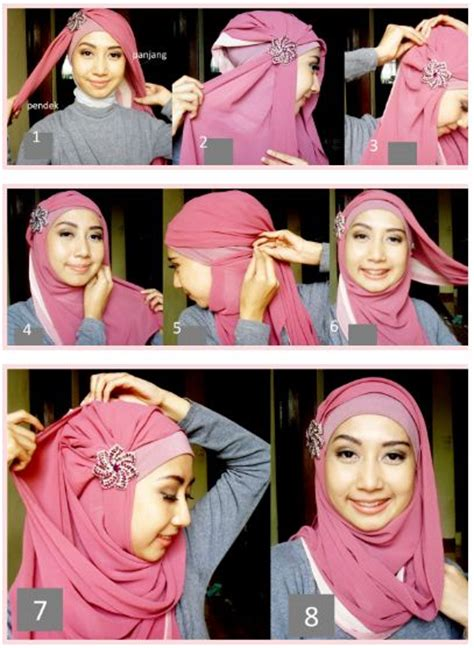 Jilbab Untuk Pesta 1000 images about tutorial on shops polos and pictures images
