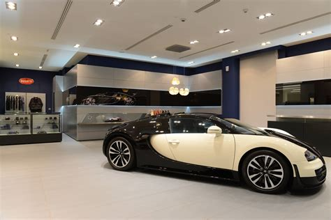 bugatti showroom bugatti opens showroom in qatar gtspirit