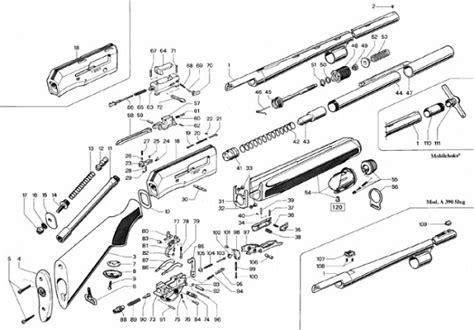 remington 66 parts diagram remington 241 parts diagram model 320 diagram