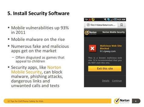 mobile phone security software 5 install security software mobile
