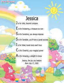 Fairy personalized name poem print by mail