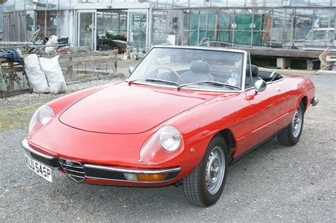 Build Dream Home 1975 alfa romeo spider 2000 veloce