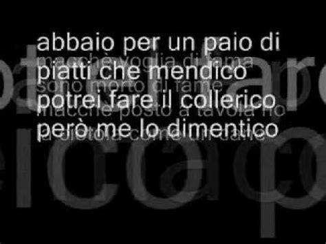 caparezza vengo dalla testo caparezza iodellavitanonhocapitouncazzo with lyrics con