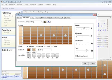 belajar kunci gitar bass belajar gitar dan bass menggunakan software