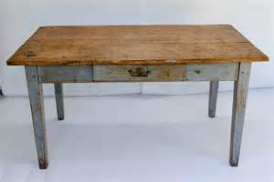 Farmhouse Writing Desk by Rustic Painted Farm Table Or Writing Desk With Drawer At