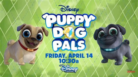 pug pals disney disney junior s new puppy pals woofs in friday april 14