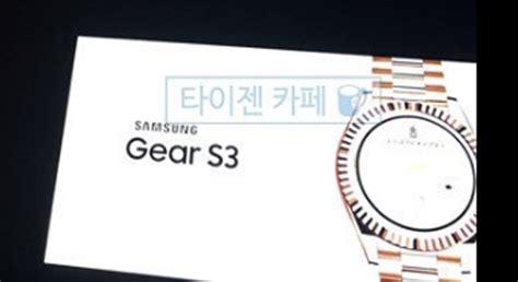 Samsung S3 Yang Besar gambar dikatakan samsung gear s3 tertiris