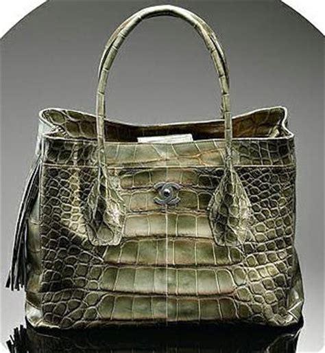 Chanel Semi Shiny Alligator Shopping Bag how doth the crocodile improve his shining