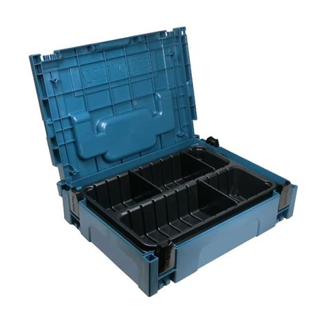 Vacum Table Type Crocodile Cvt124 makita p 83680 organiser insert 2x compartments 6x dividers for makpac type 1 cases