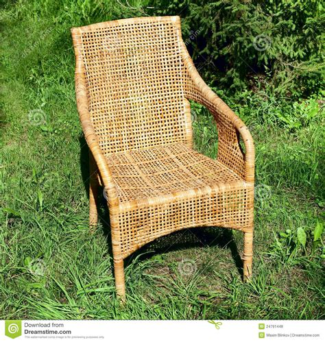 comfortable wicker chairs wicker comfortable chair royalty free stock photos image