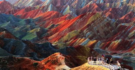 colorful mountains are these stunning colorful mountains real about islam
