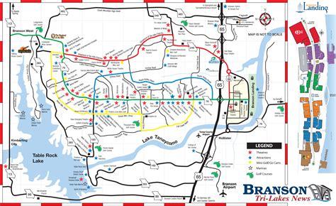 missouri map branson map of branson branson tri lakes area real estate