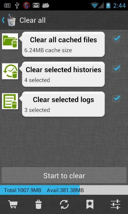 free cleaner for android best 5 free cleaning apps for android to clearn cache and space