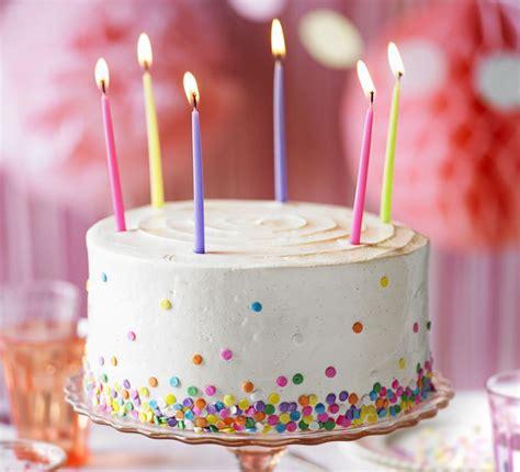 vanilla party cake bbc good food