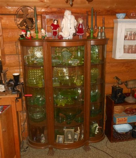 antique curio cabinet with curved glass vintage curved glass china curio cabinet collectors weekly