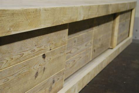 tv meubel hout groningen avignon steigerhouten tv meubel shop hout van jou
