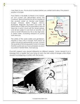 iron curtain summary iron curtain speech summary 28 images one year of