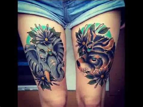 tattoo girl youtube 101 sexiest thigh tattoos for girls youtube