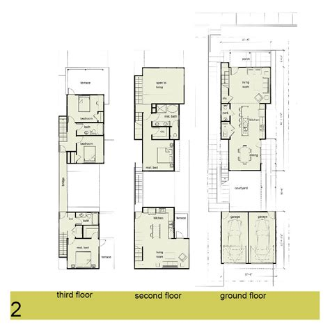 urban floor plans urban infill house plans escortsea