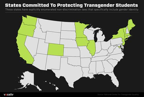 Bathroom Bill States Only 13 States Are Committed To Protecting Transgender